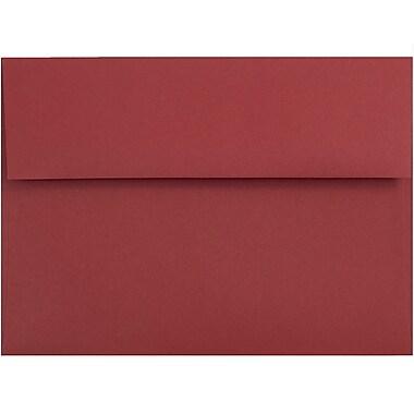 JAM Paper® A6 Invitation Envelopes, 4.75 x 6.5, Dark Red, 1000/carton (157458B)