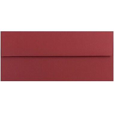 JAM Paper® #10 Business Envelopes, 4 1/8 x 9 1/2, Dark Red, 25/pack (31511298)