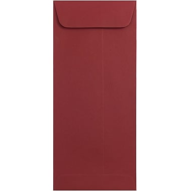JAM Paper® #10 Policy Envelopes, 4 1/8 x 9 1/2, Dark Red, 1000/carton (31511300B)