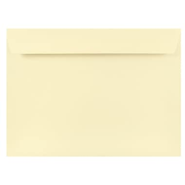 JAM Paper® 9 x 12 Booklet Envelopes, Strathmore Natural White Wove, 1000/carton (191286B)
