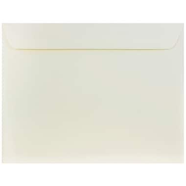 JAM Paper® 10 x 13 Booklet Envelopes, Strathmore Natural White Wove, 1000/carton (900797158B)