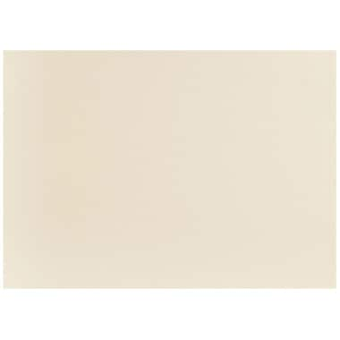 JAM Paper® Blank Note Cards, 4bar size, 3 1/2 x 4 7/8, Ivory, 100/pack (175960)