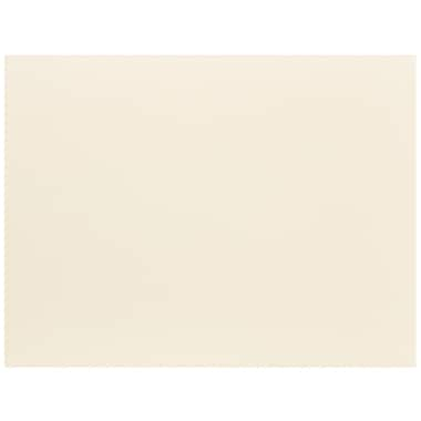 JAM Paper® Blank Note Cards, A2 size, 4.25 x 5.5, Ivory, 100/pack (175971)