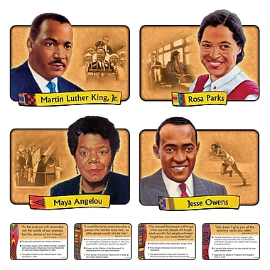 Trend Enterprises® Bulletin Board Set, African-American Achievers
