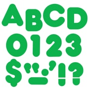 "Trend Enterprises® Casual Ready Uppercase Letter, 2"", Green"