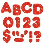 "Trend Enterprises® Casual Sparkles Ready Uppercase Letter, 2"", Red"