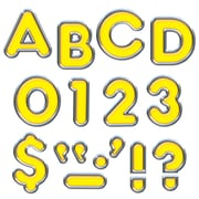 """Ready Letters 4"""" Colorful Chrome, Yellow (T-79050)"""