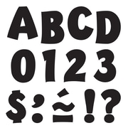 "Trend Enterprises® Playful Ready Uppercase Letter, 2"", Black"