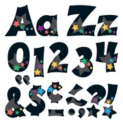 "Trend Enterprises® Stargazer Friendly 4"" Uppercase/Lowercase Ready Letters® Combo Pack, Multicolor"