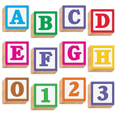 TREND Enterprises T-79851 3-D Blocks Ready Letters, Assorted