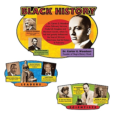 Trend Enterprises® Bulletin Board Set, Black History