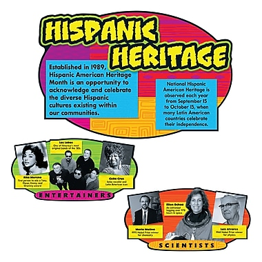 Trend Enterprises® Bulletin Board Set, Hispanic Heritage
