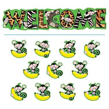 Trend Enterprises® Bulletin Board Set, Monkey Mischief® Welcome