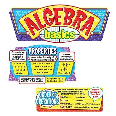Trend Enterprises® Bulletin Board Set, Algebra Basics