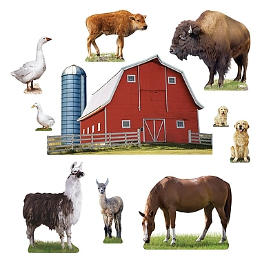 Trend Enterprises® Bulletin Board Set, Animals on the Farm