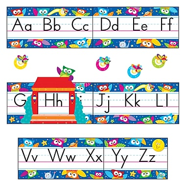 Trend Enterprises® Bulletin Board Set, Owl Stars® Alphabet