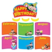 Trend Enterprises® Monkey Mischief® Mini Bulletin Board Set, Birthday Bunch
