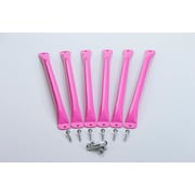 CreativeCedarDesigns Monkey Bar (Set of 6); Pink