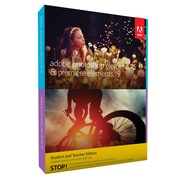 Adobe Photoshop Elements and Premiere Elements V.15.0 Student and Teacher Edition Software, 1 User (65273267)