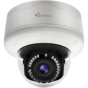 American Dynamics ADCI600F-D021A Illustra Flex 600 Wired Outdoor Mini-Dome Network Camera, 1MP, White