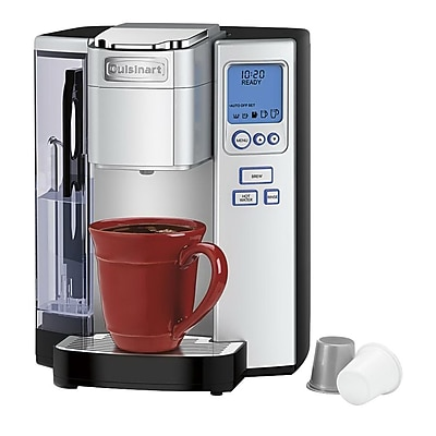 Cuisinart Premium Single Serve Coffee Brewer, Stainless Steel (SS-10) IM13N7990