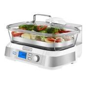 Cuisinart® CookFresh™ 5 ltr Digital Glass Steamer, White/Stainless (STM-1000W)