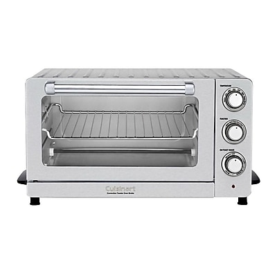 Cuisinart 0.6 cu. ft. Toaster Oven Broiler with Convection, Stainless Steel (TOB-60NFR) IM14T9651