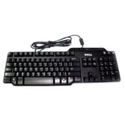 Dell™ USB Wired Keyboard with Smart Card Reader and Palm Rest, Black (SK-3205)