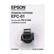 Epson® EFC-01 Franking Cartridge for TM S1000/TM S9000 Printer, Black (A43S020461)