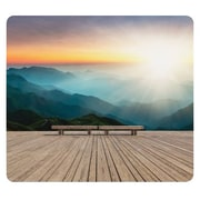 Fellowes® Recycled Mouse Pad, Mountain Sunrise (5916201)