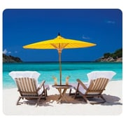Fellowes® Recycled Mouse Pad, Caribbean Beach (5916301)