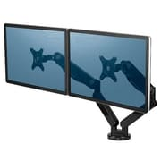 "Fellowes® Platinum Dual Mounting Monitor Arm for 10"" - 27"" Monitor, Black (8042501)"