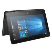 "HP® ProBook x360 11 G1 EE 1FY91UT 11.6"" Notebook, Touchscreen LCD, Intel Celeron N3350, 128GB, 4GB, WIN 10 Pro, Black"