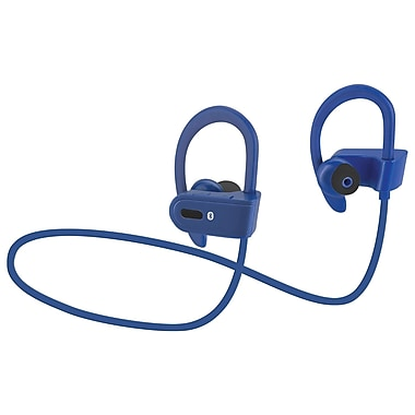 dpi gpx personal portable ilive iaeb26bu wireless bluetooth earbud blue staples. Black Bedroom Furniture Sets. Home Design Ideas