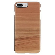"Man&Wood® M7221B Wood/Polycarbonate Slim Case for 5.5"" Apple iPhone 7 Plus, Cappuccino/Black"