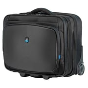 "Mobile Edge AWVRC1 Neoprene/Ballistic Nylon Alienware Vindicator Rolling Carrying Case for 13"" - 17.3"" Laptop, Black"