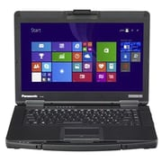 "Panasonic Toughbook® CF-54D2900VM Lite 14"" Notebook, LCD, Intel Core i5-6300U 2.4 GHz, 500GB, 4GB, WIN 10 Pro, Black"