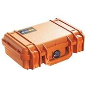 Pelican™ 1170 Orange Polypropylene Shipping Box with Foam (1170-000-150)