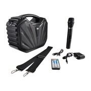 Pyle® Portable Bluetooth Karaoke Speaker System, Black (PWMA285BT)