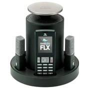 Revolabs® 10-FLX2-002-VOIP Wireless VoIP Conference Phone, Black