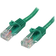 StarTech.com® Green 10' RJ-45 Male/Male Cat5e Snagless UTP Patch Cable