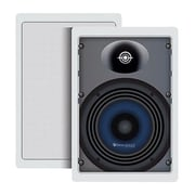 STEREN® Sequence Premier 120 W 2-Way In-Wall Speaker With Pivoting Dome Tweeter
