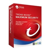 Trend Micro™ Maximum Security 2017 Software, 5 Device(TIN60067)