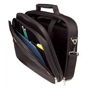 """Urban Factory™ CCC01UF-V2 City Classic Nylon Carrying Case for 15.6"""" Notebook, Black"""