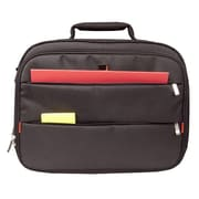 """Urban Factory™ CCC03UF-V2 City Classic Nylon Carrying Case for 17.3"""" Notebook, Black"""