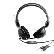 Urban Factory™ MHD07UF Crazy Stereo Corded Over-the-Head Headphone with Microphone, Black