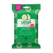 Yes To® Cucumbers Hypoallergenic Facial Wipes, 10/Pack (3371028)