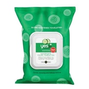 Yes To® Cucumbers Hypoallergenic Facial Wipes, 30 Count, 3/Pack (391028-3-KIT)
