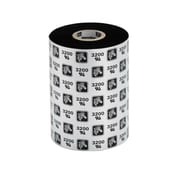 "Zebra® 4.33"" x 242.78' Wax Resin Ribbon, 12/Pack"