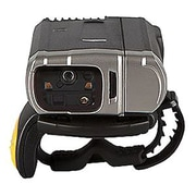 Zebra® 1D/2D Laser Portable Bluetooth Ring Scanner, Black/Silver (RS6000)